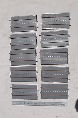 10 Pieces of Triang Minic Motorway Straight Track M1601