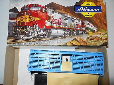 Athearn HO scale 40' Stock Car kit Great Northern.