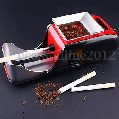 230V Electric Automatic Cigarette Injector Rolling Machine Tobacco Maker Roller