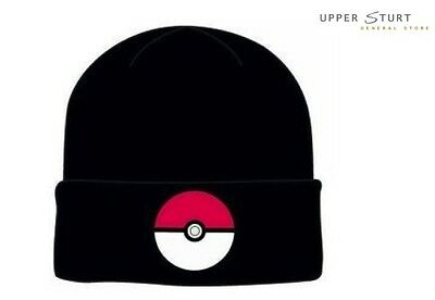 Pokemon Pokeball Cuff Knit Beanie FAST 'N FREE DELIVERY