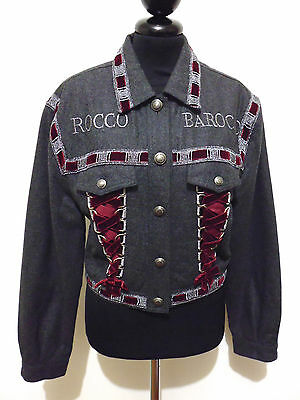 ROCCOBAROCCO VINTAGE '80 Giacca Donna Lana Woman Wool Jacket Sz.M - 44