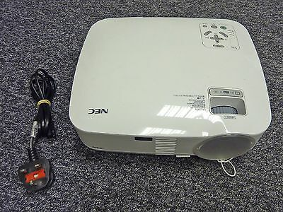 NEC VT48 LCD Projector - 91% Lamp Life Remaing - No Remote