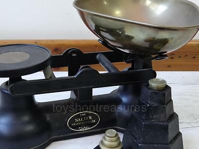 Vintage Salter Scales with Weights Salter Staffordshire England