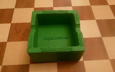 Polygram Trainspotting Green Edition Ashtray Movie Promotional Item VERY RARE