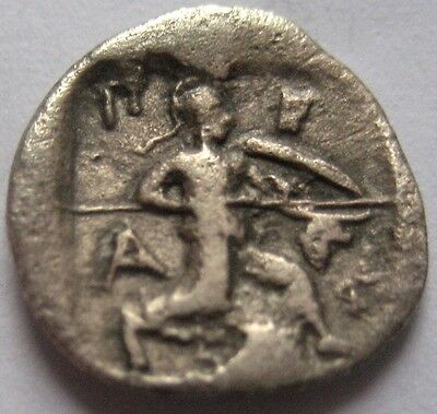 INTERESTING LOT of TWO SILVER and RARE COINS of THRACE, LARISSA  and PHERRAIBOI