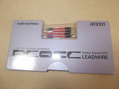 Audio Technica AT6101 Leadwire for PCOCC Cartridge Music Free Ship from Japan