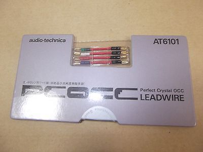 Audio Technica AT6101 Leadwire for PCOCC Cartridge Music Free Ship