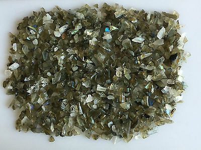350Ct Scoop Natural Labradorite Rainbow Moonstone Mix Sawed Rough Loose Gems Raw