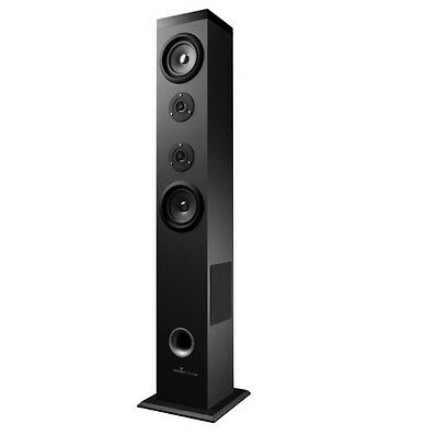 Altavoz Bluetooth Torre Energy Tower 5 60W Panel Tactil Color Negro Usb Sd Fm