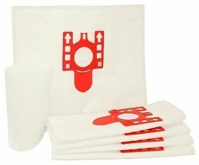 5 x MIELE FJM Compatible HyClean Type Hoover VACUUM DUST BAGS & 2 x Filters