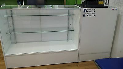 Shop display counter cabinet