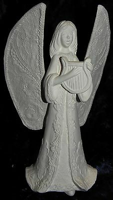 Ready to Paint Ceramic Xmas  Angel Candle Holder