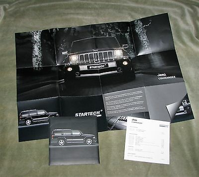 Startech By Brabus Jeep Commander Accessories Sales Leaflet