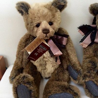 BNWT CHARLIE BEARS - AGNES - NEW 2016 COLLECTION ACTUAL BEAR IN PHOTO no. 1
