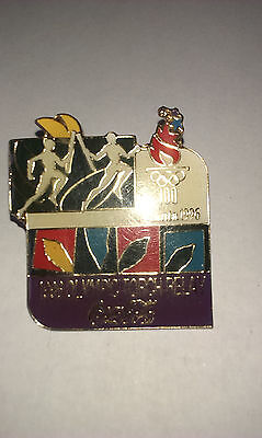 1996 olympic torch relay badge