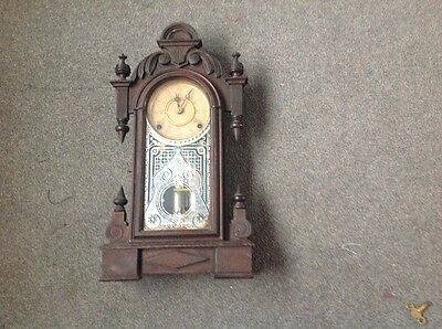 Antique Ansonia Striking Mantle Clock Circa 1880's In Good Working Order