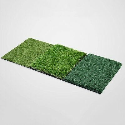 Hot Sale Golf Practice Mat 3 in 1 Folable Chipping Putting Nylon Grass Cushion