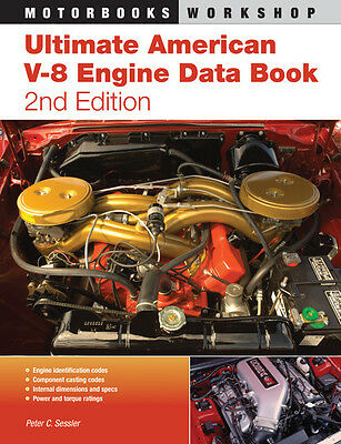 Ultimate American V-8 Engine Data Book - Buch (codes specifications ratings)