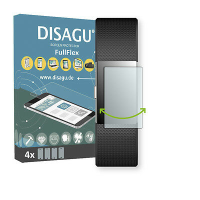 4x Disagu FullFlex screen protector for Fitbit Charge 2 foil