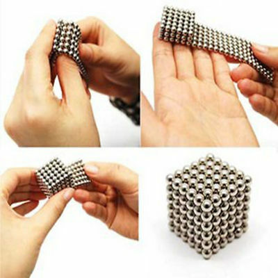 "2/10"" Magnetic Steel Balls Desk Toy Hunting Ammo and Stress Relief 100 Balls"