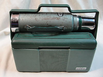 Aladdin Stanley Lunch Box/Thermos A944-CH Cooler green 7 quart heavy duty