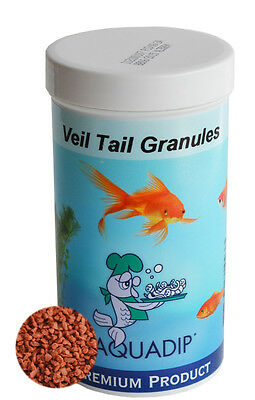 Dried Veil tail granules 1.5 mm - 2 kg Tub - Bulk Bag