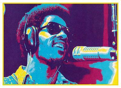 Stevie Wonder *LARGE POSTER* Innervisions PSYCHEDELIC Talking Book R&B Funk 70's