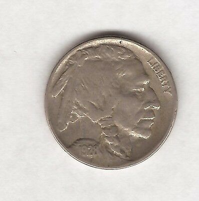 1928 Usa United States Of America Five / 5 Cent Coin