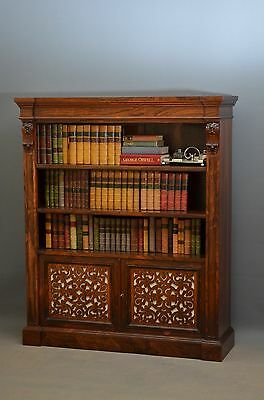 An Exceptional William IV / Early Victorian Bookcase - Open Bookcase