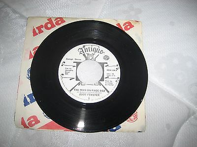 "Zoot Fenster 7"" Vinyl Single ""The Man on Page 602"""