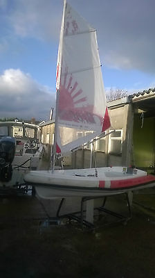 Walker Bay Breeze 8 with sailing rig