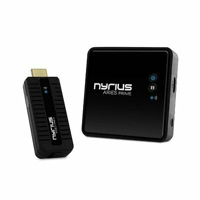 Nyrius ARIES Prime Wireless Video HDMI Transmitter & Receiver for Streaming HD &