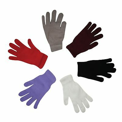 Ladies Girls MAGIC Gloves Womens Stretchy Warm Winter Magic Gloves 6 Colours