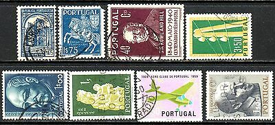 Portugal - 8 Good Or Fine Used Stamps - High Cat