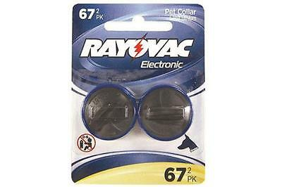 2 x RFA-67 Rayovac PetSafe Compatible Fence & Dog Collar Batteries (1 Card of 2)