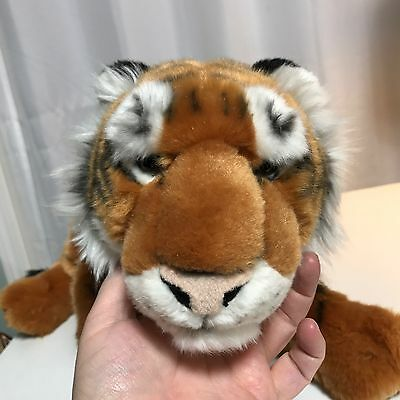 "FAO Schwarz 28"" Large Plush Tiger - Orange"