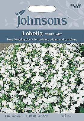 Johnsons Seeds Lobelia Bush Crystal Palace Seed 259 Picclick Uk