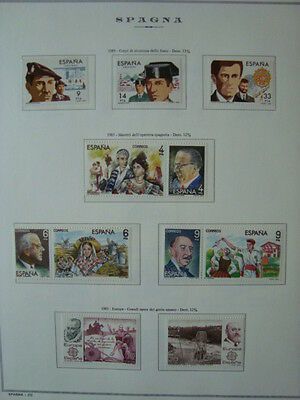 Spagna 1983-1984 Annate Complete Nuove ** Mnh Val. Cat. € 51,00