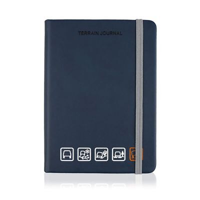 Genuine Land Rover Large Navy Terrain A5 Notebook