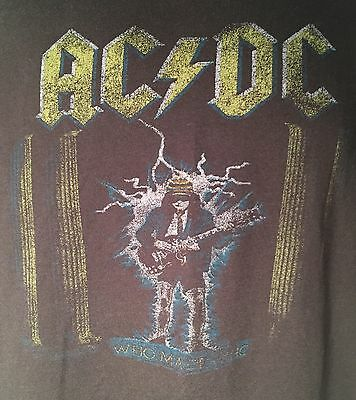 AC/DC Who Made Who Concert T SHIRT! Size Medium!