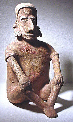 Pre-Columbian Large Jalisco Figure Ex: Sothebys '78