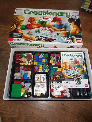 Creationary Game by Lego #3844 - Complete LEGO