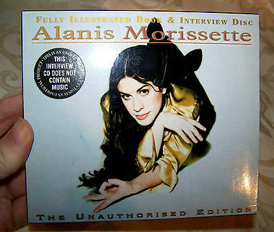 Alanis Morissette Interview CD and Book Unique Hard to Find Collectible
