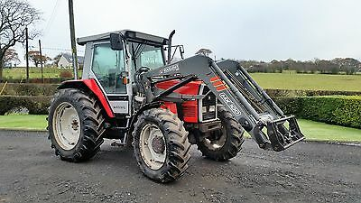 Massey Ferguson 3070 Tractor Mailleux - MX100 Loader