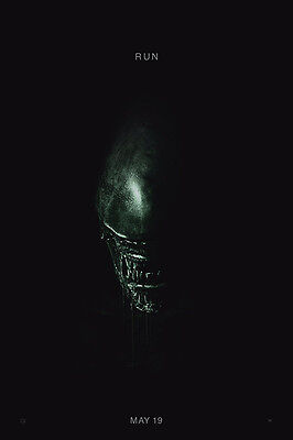 Alien Covenant Hot Movie Silk Cloth Art Poster Decor 19L