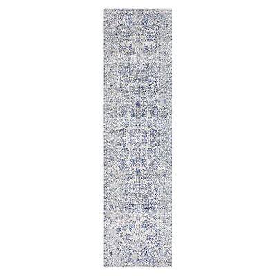 NEW Rug Culture Fontanilla Oriental Runner Rug, Blue