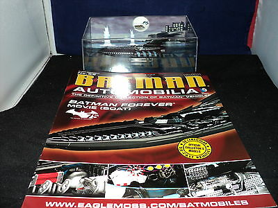 Eaglemoss Batman Automobilia - Issue 52 - Batman Forever Movie Boat (75 years)