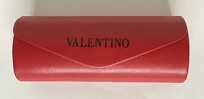 Valentino Sunglasses Glasses Spectacles Large Hard Red Case BNWoT
