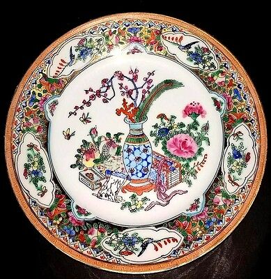 Antique Chinese Republic Period  Canton Famille Rose Charger/dish/plate Marked