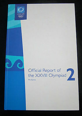 Official Report    Olympic Games ATHEN 2004 // 540 pages // 4,3 kg  !!  RARITY